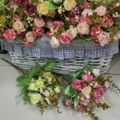 """Цветы искусственные """"Пионовидная роза"""""""