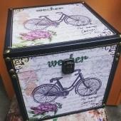 Шкатулка чемодан без отделений