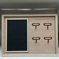 Ключница открытая с грифельной доской