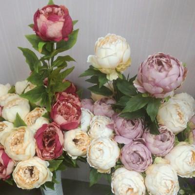 Цветы искусственные Пион Гранд