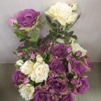 Цветы искусственные Роза Фьерро
