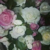"""Цветы силиконовые """"Роза малая"""""""